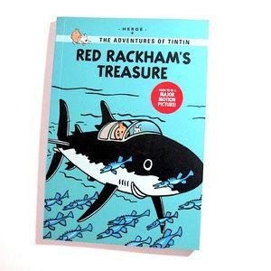 Red Rackham's Treasure Tintin